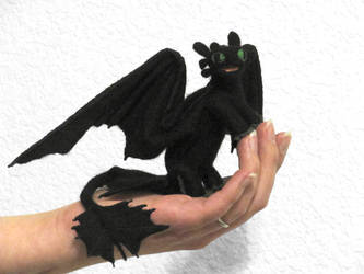 Toothless v 2.0 by GlassCamel