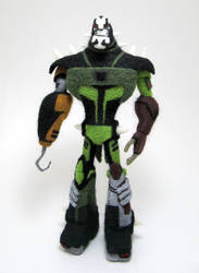 Needle-Felted Lockdown by GlassCamel