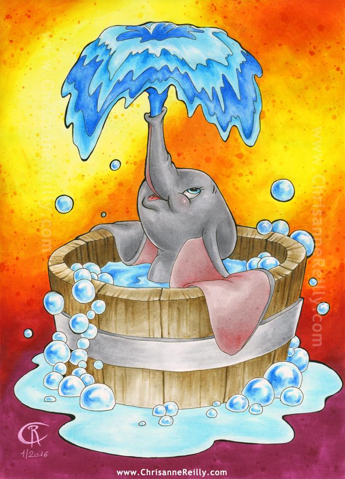 Dumbo bubble bath by magur