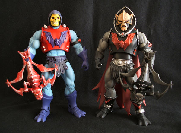 MOTUC Horde Skeletor + Hordak by masterenglish on DeviantArt