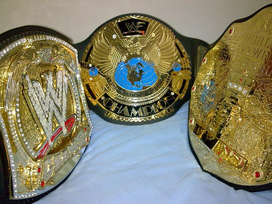 WWE REPLICA TITLES by imranbecks