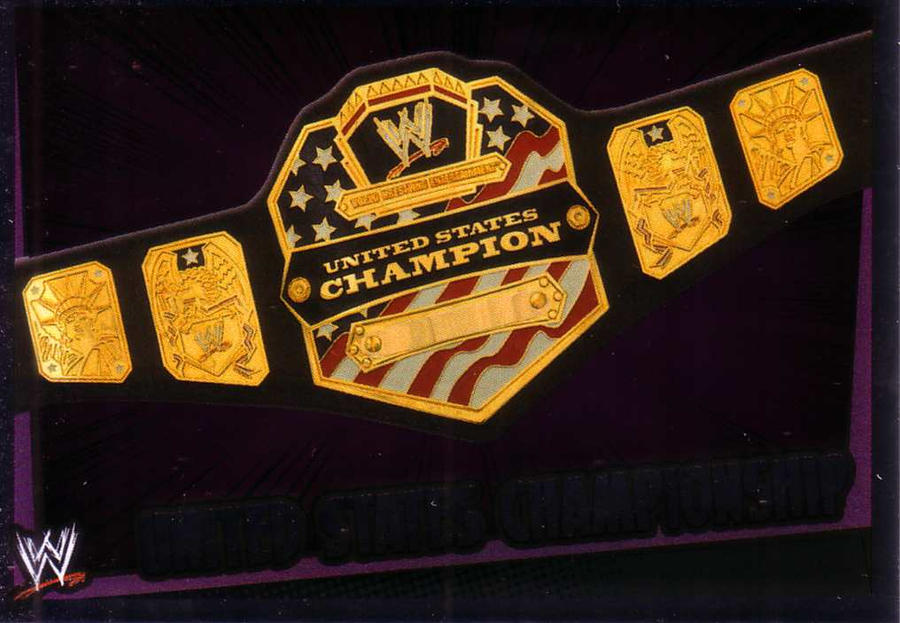 WWE UNITED STATES CHAMPIONSHIP by imranbecks