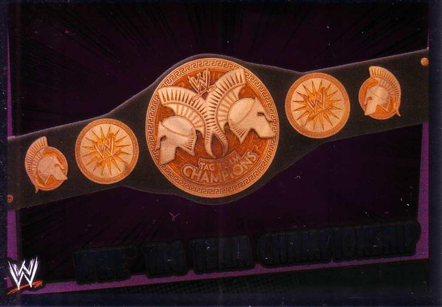 WWE TAG TEAM CHAMPIONSHIP by imranbecks