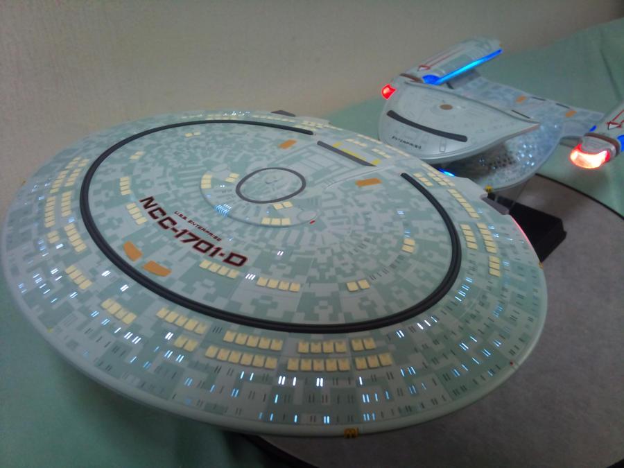 AOSHIMA STAR TREK USS ENTERPRISE NCC-1701-D by imranbecks