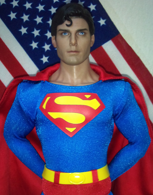 HOT TOYS CHRISTOPHER REEVE as SUPERMAN by imranbecks