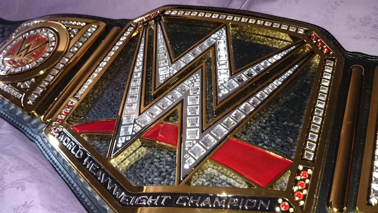 Wwe World Heavyweight Championship Belt 2014 WWE WORLD HEAVYWEIGHT ...
