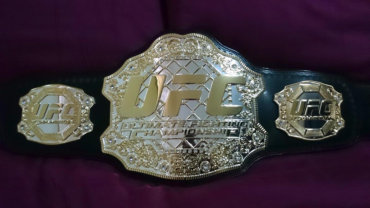 UFC TITLE BELT by imranbecks
