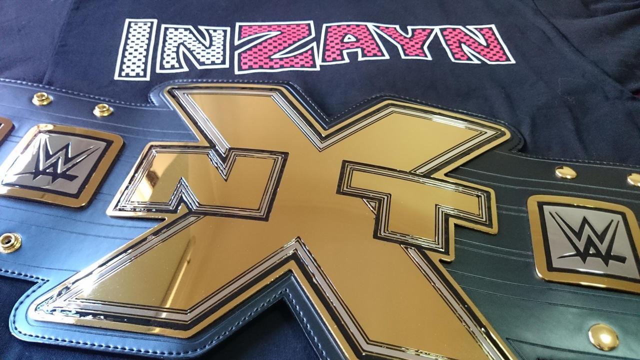 NXT CHAMPIONSHIP by imranbecks