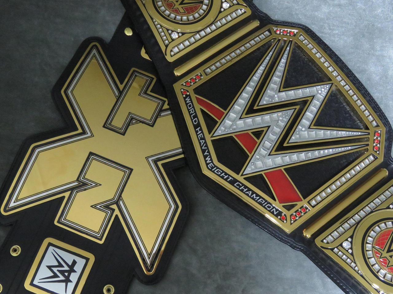 NXT and WWE by imranbecks