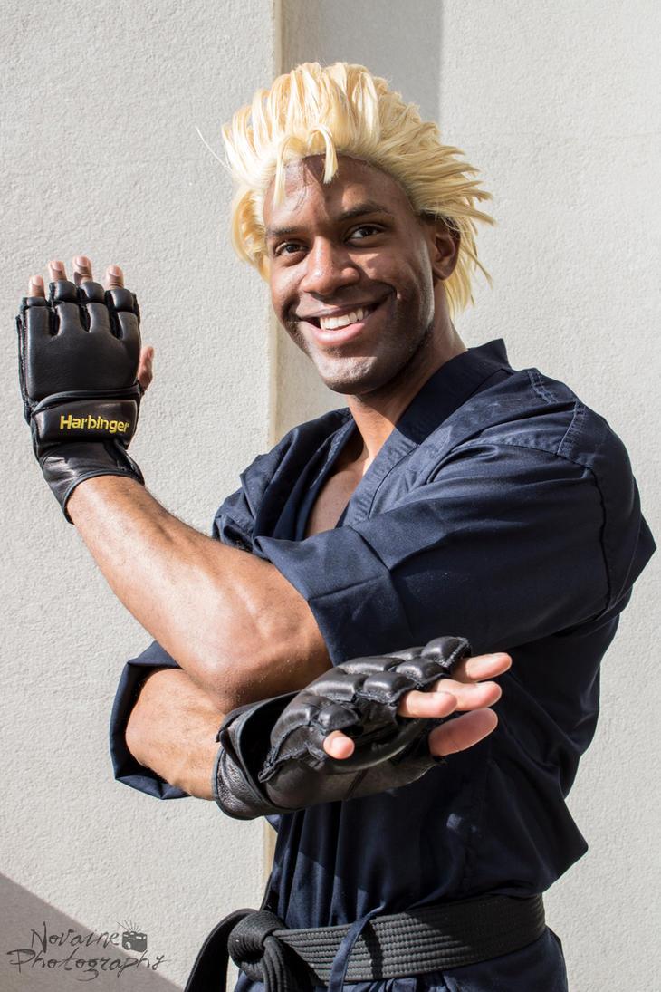 Mr. Karate II (AKA Ryo Sakazaki) Cosplay by whodigiya