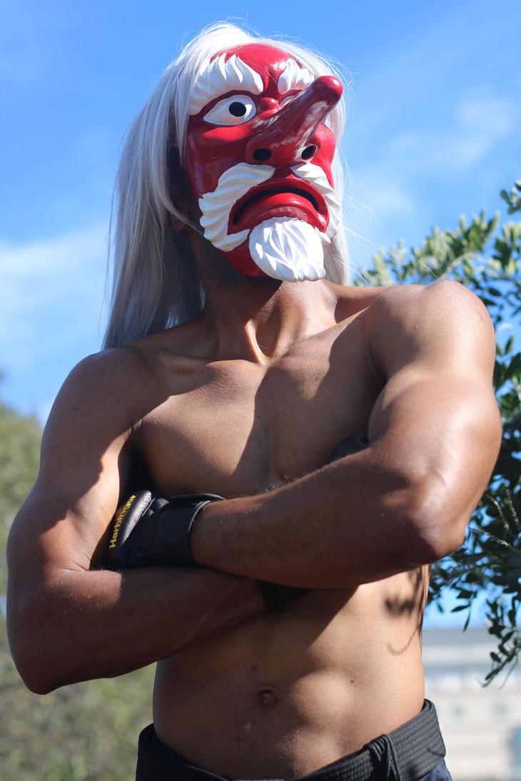 Serious Mr. Karate II Cosplay by whodigiya