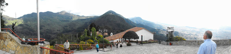Monserrate Bogota Colombia by macuy19