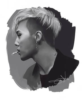 Speed painting |G-Dragon