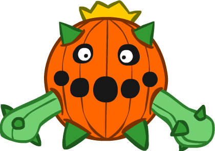 Pumpkin Cacnea by Kinneas64