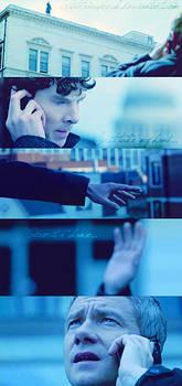 Sherlock BBC. Don't Jump.