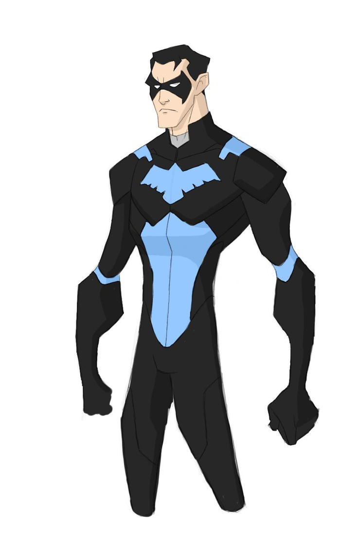 Young justice 2020 series nightwing by ridiculousrob on deviantart - Pictures of nightwing from young justice ...