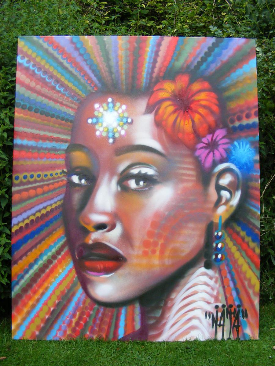 garden canvas by n4t4