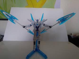 GN-9999 Transient Gundam by kerosoldier
