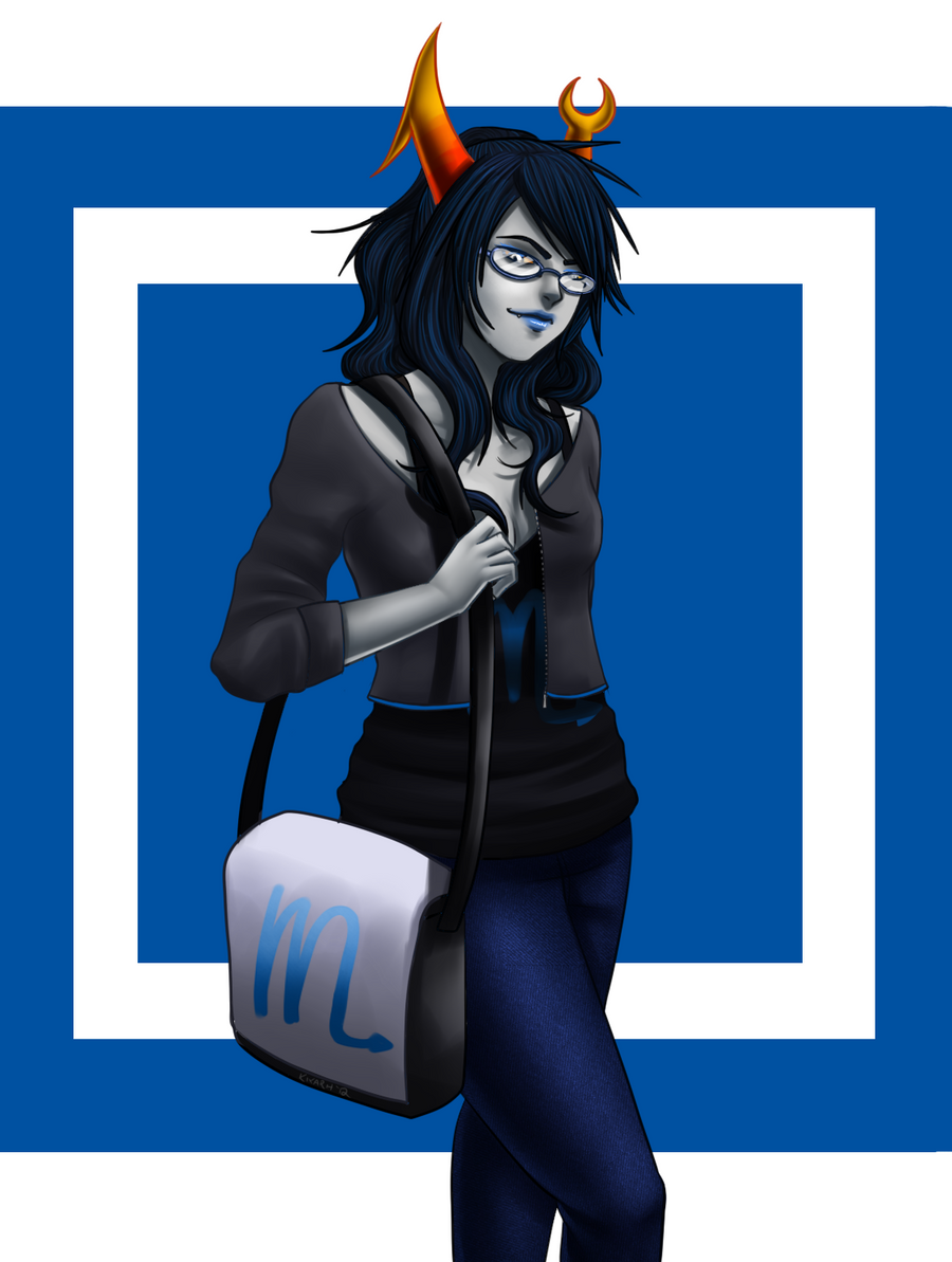 Homestuck: Vriska Serket by Quitoxica