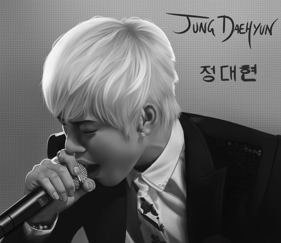 B.A.P: Daehyun by Quitoxica