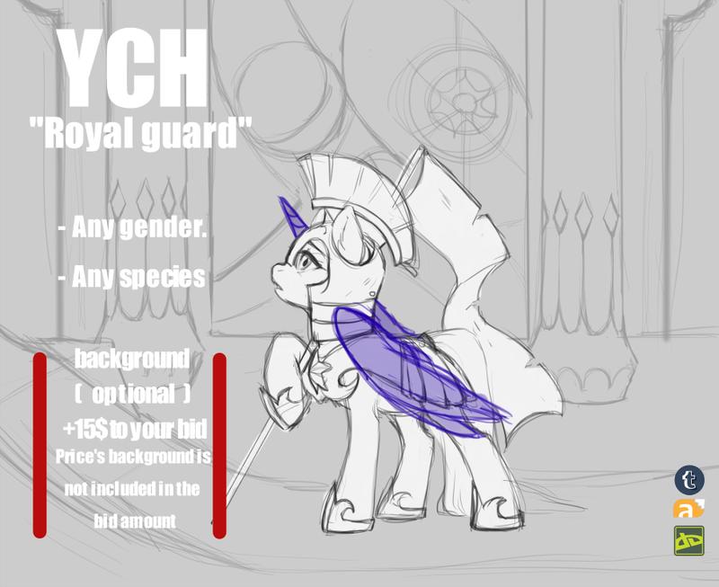 YCH Royal guard by Dagmell