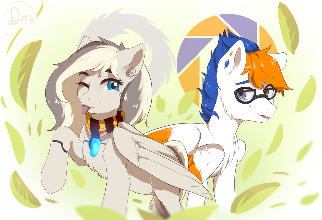 [comm] Ponies by Dagmell