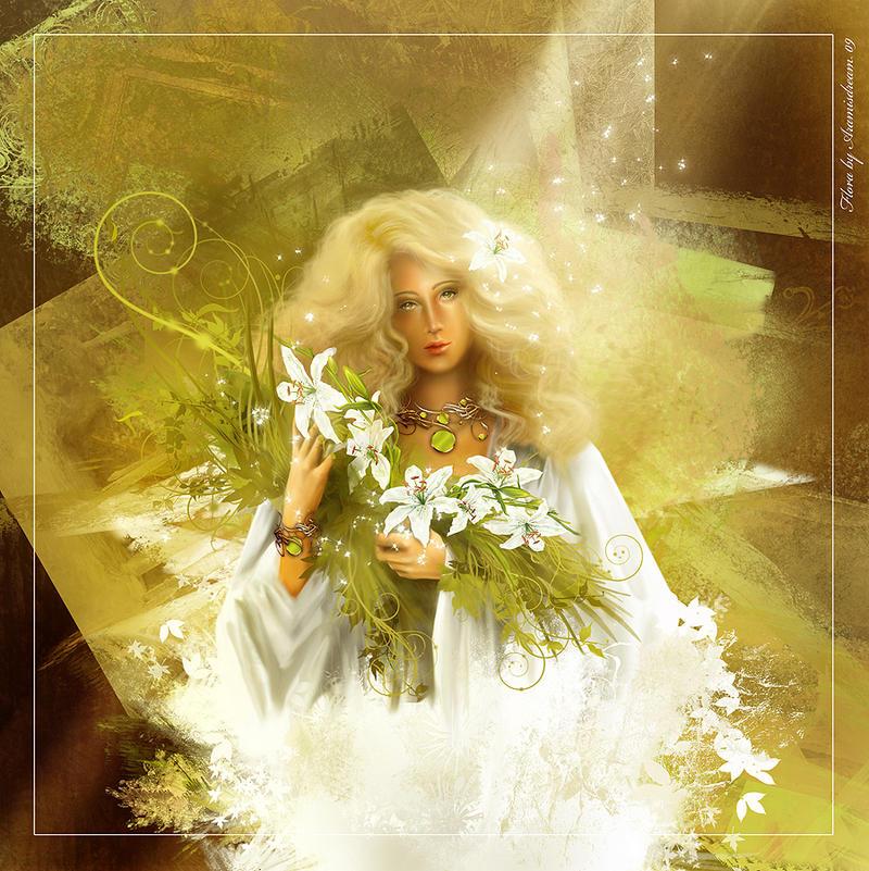 Flora by Aramisdream