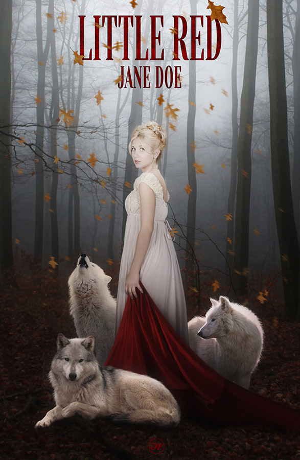 Little Red -  Novel Cover by Aramisdream