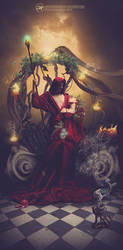 Between life and dead - Hades and Persephone by Aramisdream