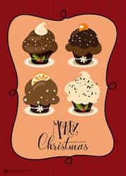 Sweet Christmas Greeting - 2 by Aramisdream