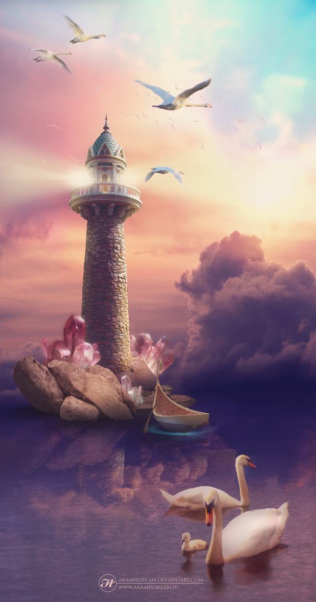 The Dreamland's Lighthouse by Aramisdream
