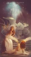 Il cimitero degli angeli - The Angels Cemetery by Aramisdream