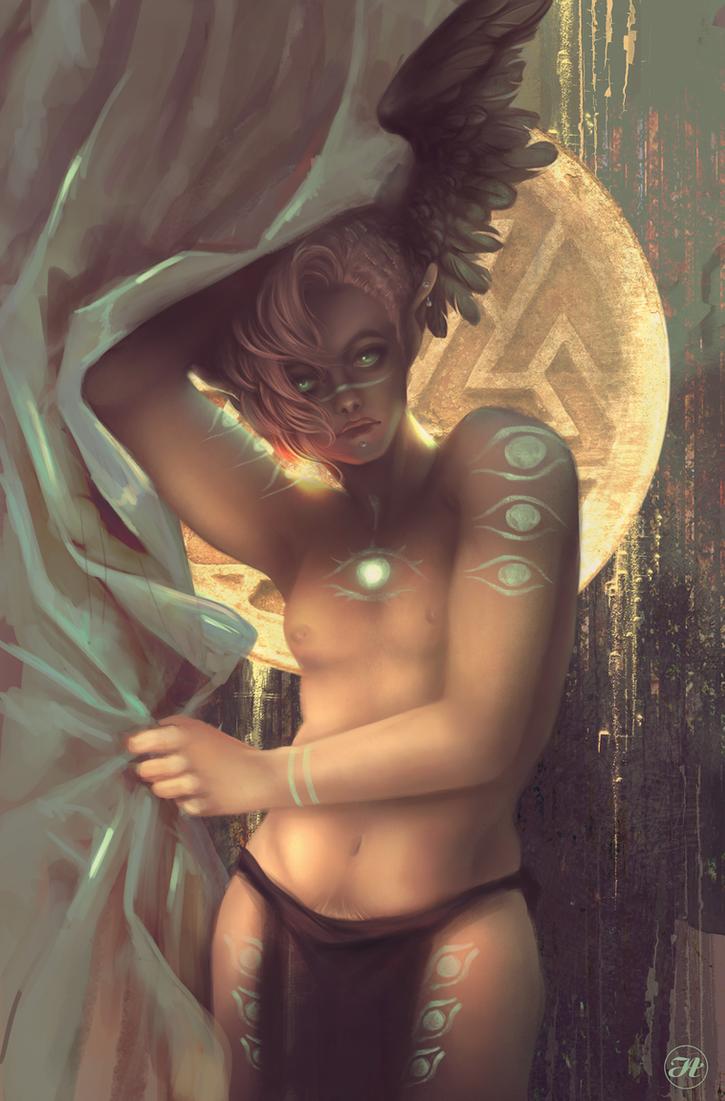 Sacred and Wild by Aramisdream