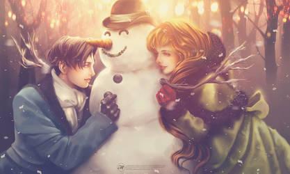 Love and War: Winter reverie by Aramisdream