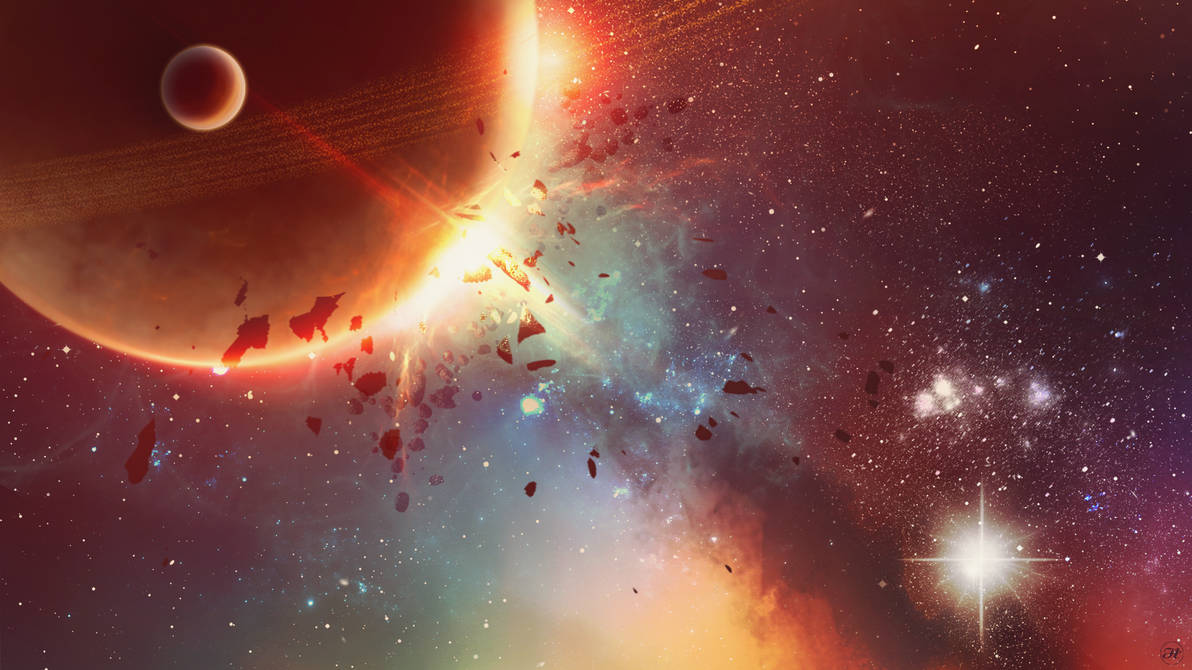 +Cosmic Traveler+ Wallpaper