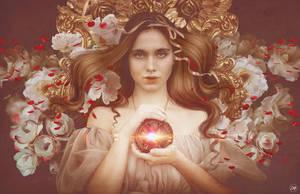 Beyond the mirror by Aramisdream