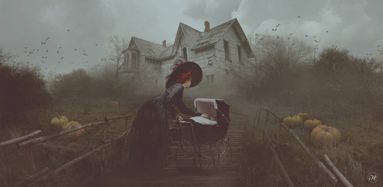 Dark Countryside by Aramisdream