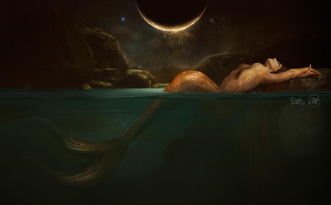 Lone Mermaid