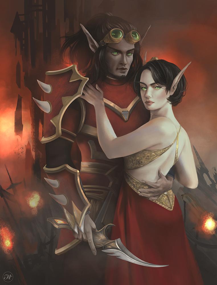 Shathin and Octavia