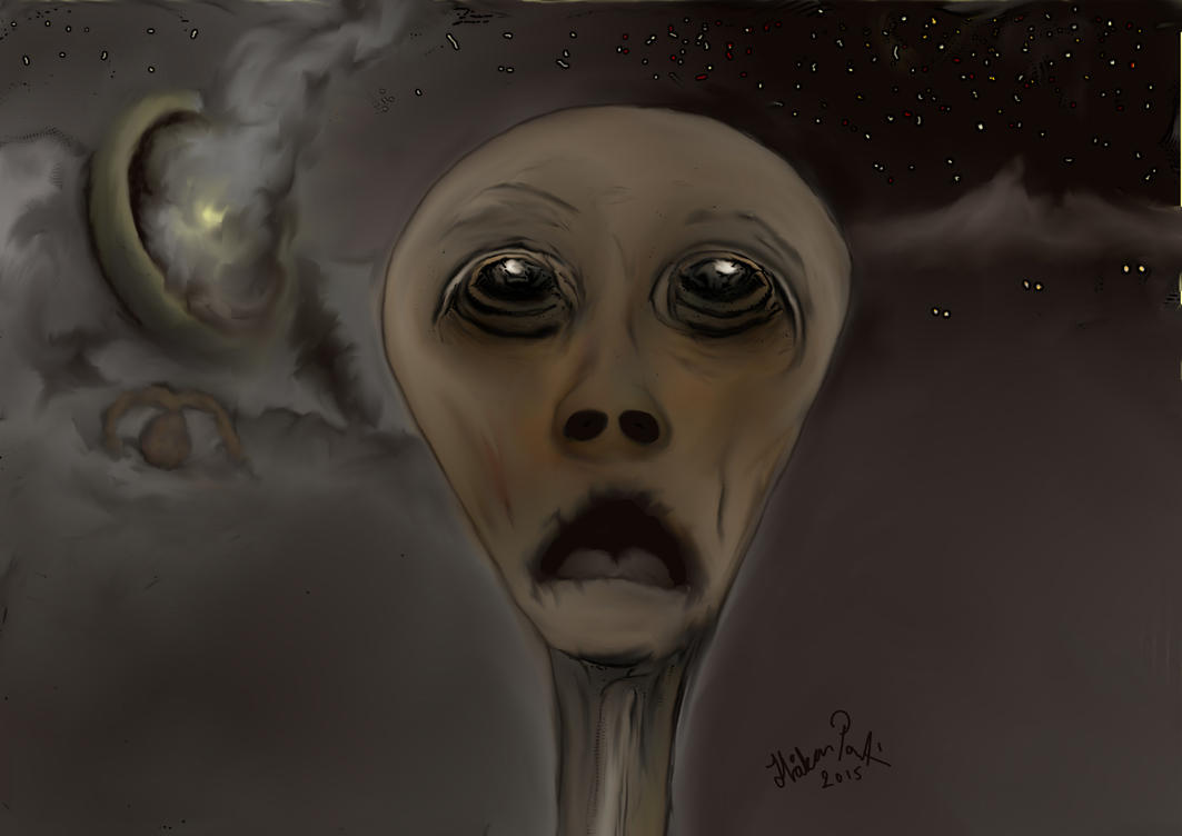Roswell 1947 by basscania