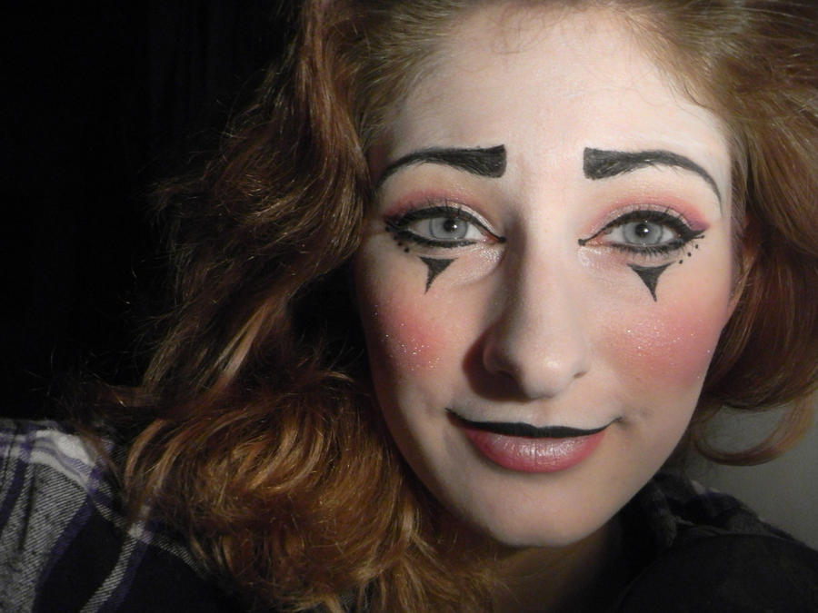 Mime Makeup Pictures Traditional Mime Makeup