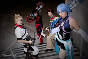 Keyblade masters. by squallette