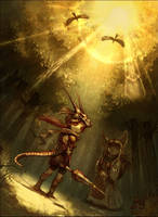 dragon knight by tahra