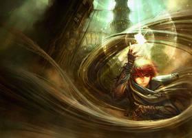 goddamn quest - novel cover by tahra