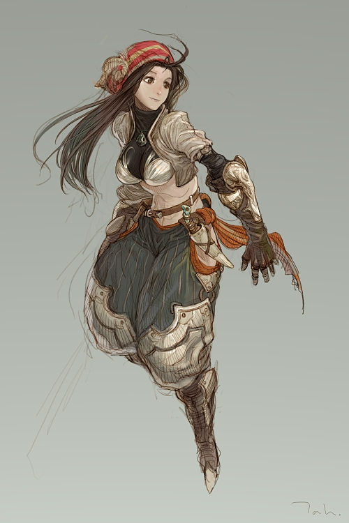 Character Design An Artist Resource : Thief by tahra on deviantart