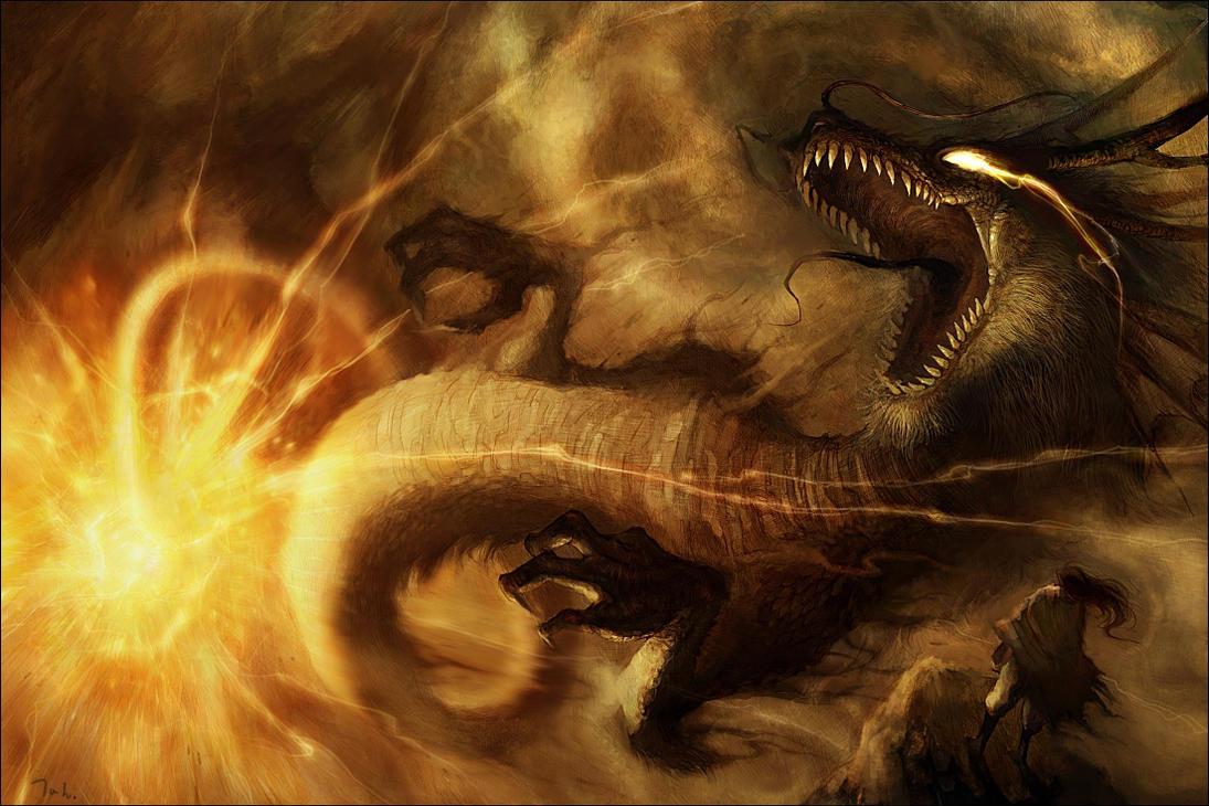 dragon by tahra