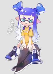 My Squid by amwshi