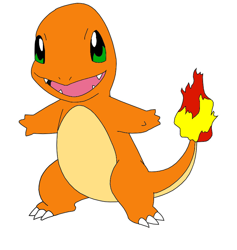 Charmander Cake Ideas and Designs
