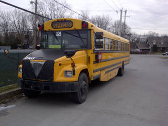 [For my friends] School Bus by Kesserca