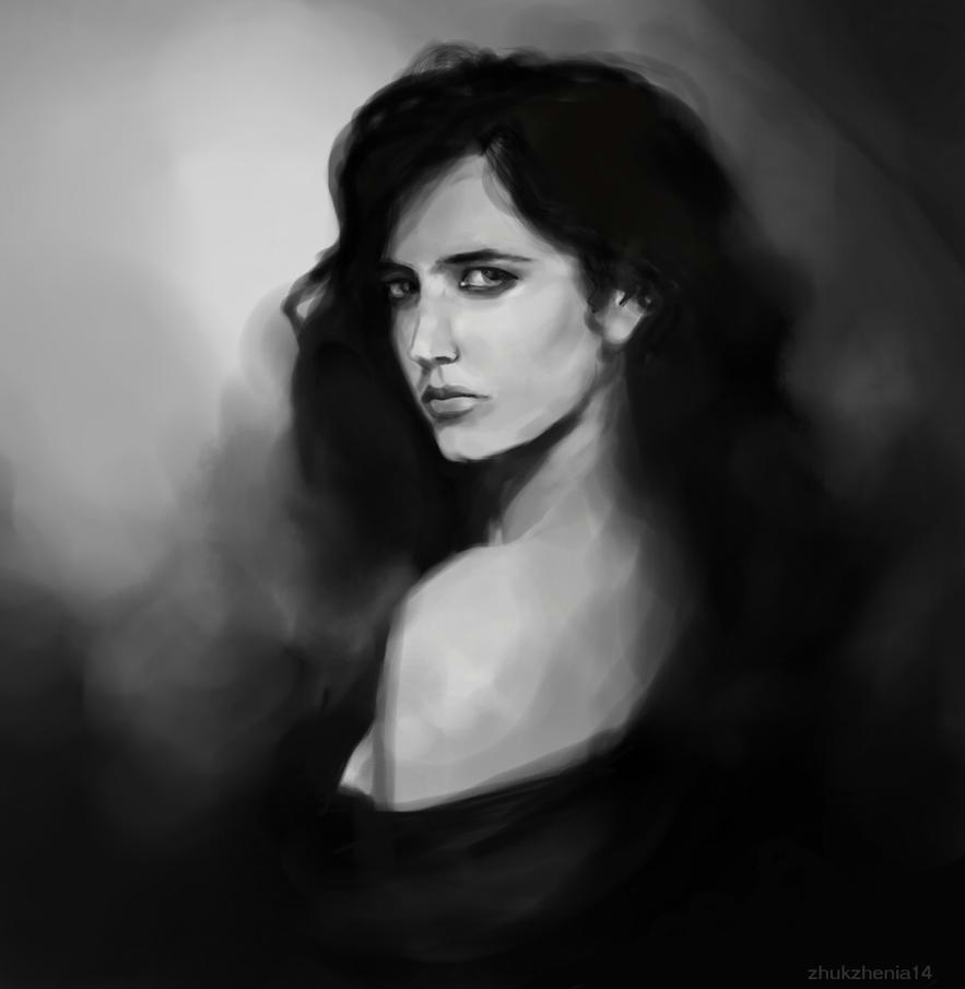 Eva green by zhukzhenya14